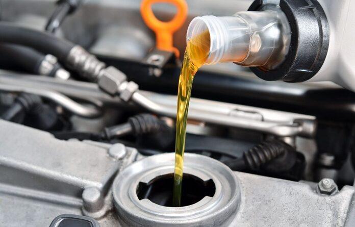 cambio de aceite: imagen de taller