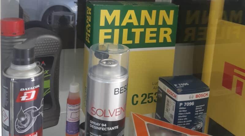 cambiar filtros motor coche