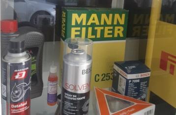 cambiar filtros motor