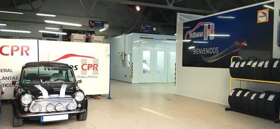 Taller en Vigo Talleres CPR - Taller mecánico, chapa y pintura en Balaídos